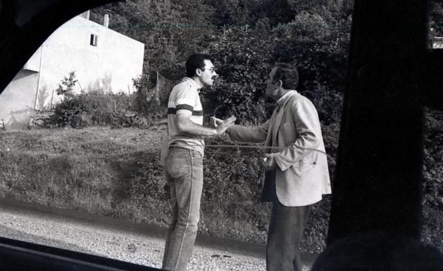 Trabzon Müze müdürü Ulvi Özel, definecilerden Myi Hasançebi ile sık sık tartışıyor