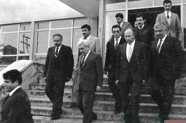 TBMM Başkanı Necmettin Karaduman,Trabzon Valisi Yılmaz Ergun, Araklı Kaymakam adayı Tayyar Şaşmaz ve Belediye Başkanı Yılmaz çebi