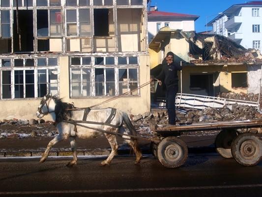 Ardahan da at arabası