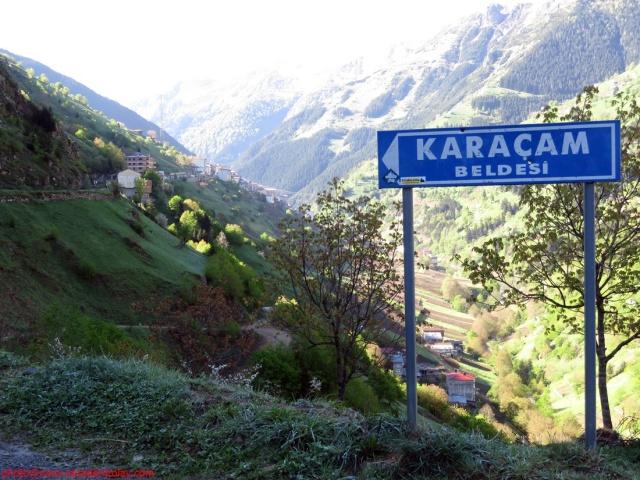 Trabzon'un Çaykara ilçesine bağlı Karaçam mahallesi