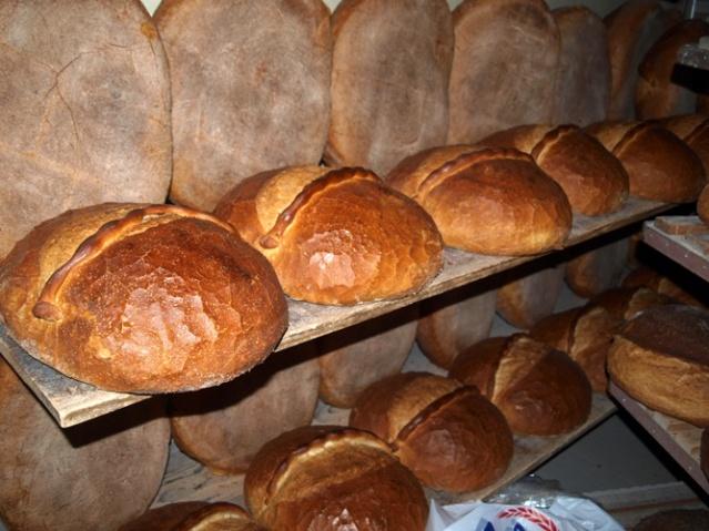Trabzon Ekmeği raflar da