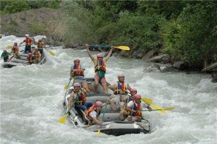 Artvin'de Rafting heyecanı
