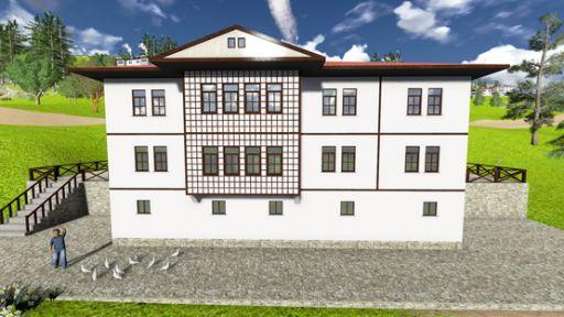 Yöresel mimari de ev yapana destek