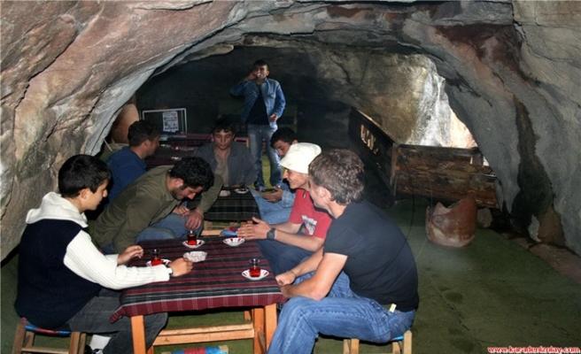 Çalköy  Mağarası, cazibesini artırıyor