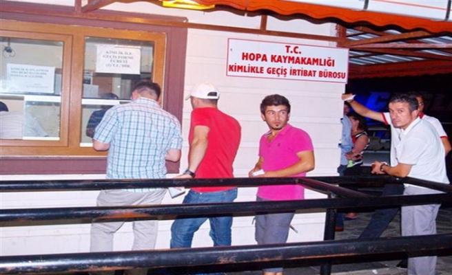 Sarp'ta Batumi kuyruğu