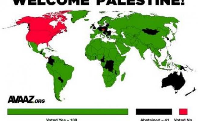 Filistin'i Dünya yeni farketti!