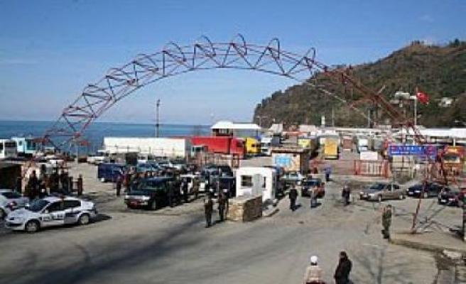 Sarp Sınırında Türk-Gürcü Dostluğu