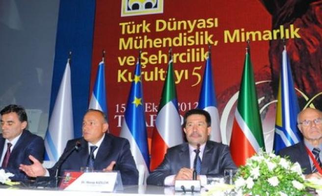 Türk Dünyası Mimar ve mühendisleri Trabzon'da buluştu