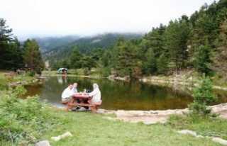 Zigana'da Limni gölü..
