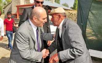 Bakan Bayraktar, Van'da köy gezdi