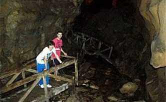 Çalköy mağarasını da sel basmış