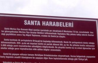 Santa Harabeleri /Dumanlı köyü / Gümüşhane