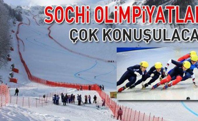 Sochi Olimpiyatları, çok konuşulacak!