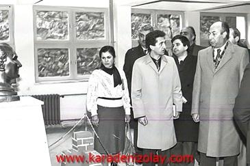 Çankaya YBO'da Atatürk büstü